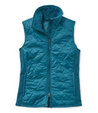 Teal fleece vest
